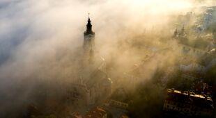 Poranna mgła w Przemyślu