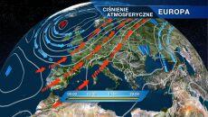 Pogodę zdominuje wyż znad Ukrainy