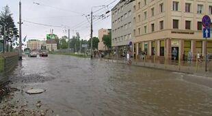 Zalania w Gdyni (TVN24)