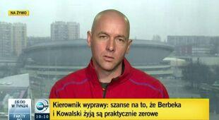 Jacek Jawień o zamykającym się oknie pogodowym (TVN4)